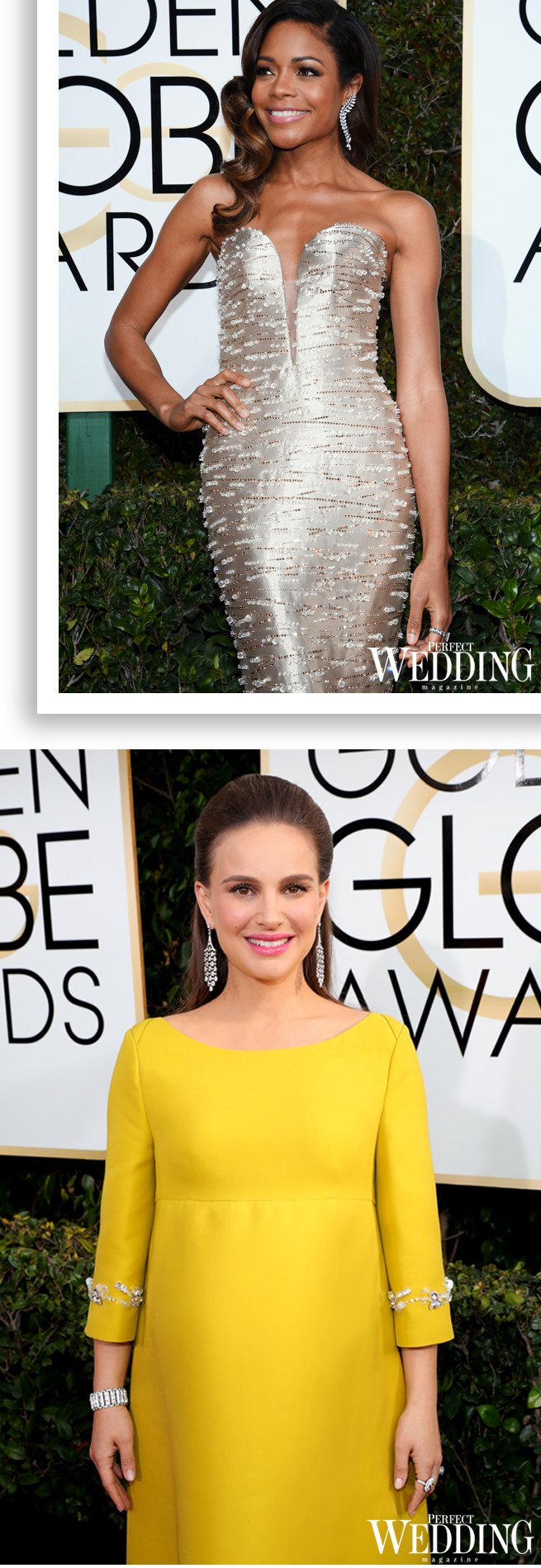 Golden Globes, Tiffany & Co., Emma Stone, Natalie Portman, Naomi Harris,