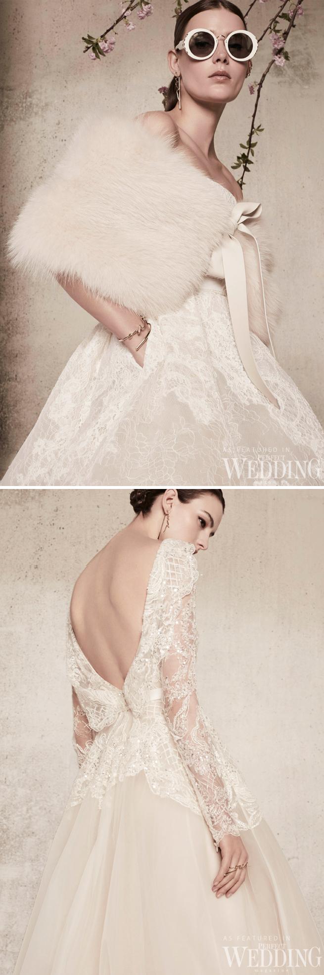 Elie Saab, Elie Saab Bridal, Elie Saab RTW Bridal, In Blomm, Elie Saab 2018 bridal, Perfect Wedding Magazine, Perfect Wedding Blog, 2018 bridal trends, haute couture