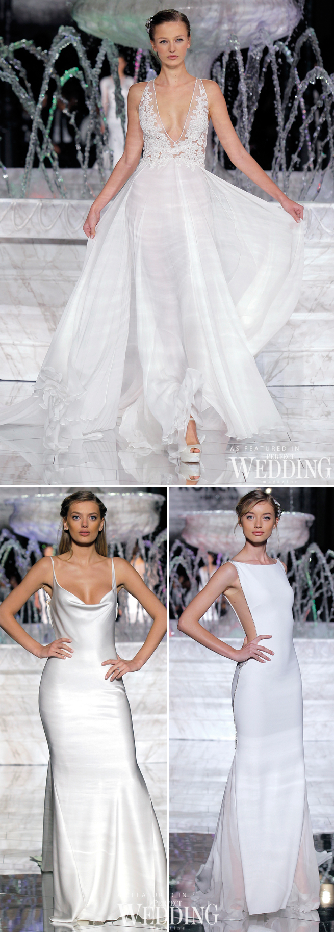 Pronovias, Atelier Pronovias 2018, Pronovias Fashion Show, Hervé Moreau, Perfect Wedding Magazine, Perfect Wedding Blog, Barcelona Bridal Trends