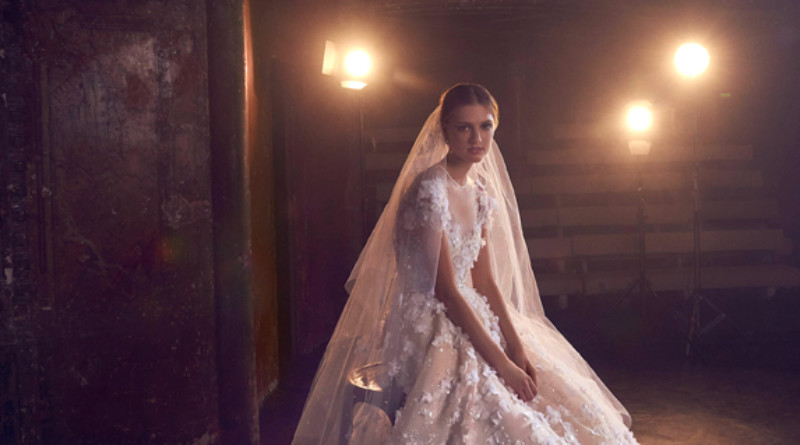 Elie Saab, Elie Saab Bridal, Elie Saab Wedding Gowns, Elie Saab Bridal Fall Winter 2018, Perfect Wedding Magazine, Theater of Light, Bridal Trends 2018, Perfect Wedding Magazine, Couture Bride