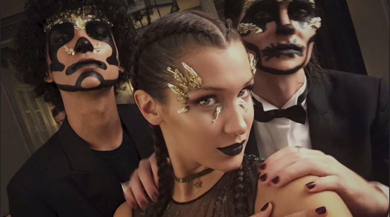 Bella Hadid Dior Halloween MakeUp