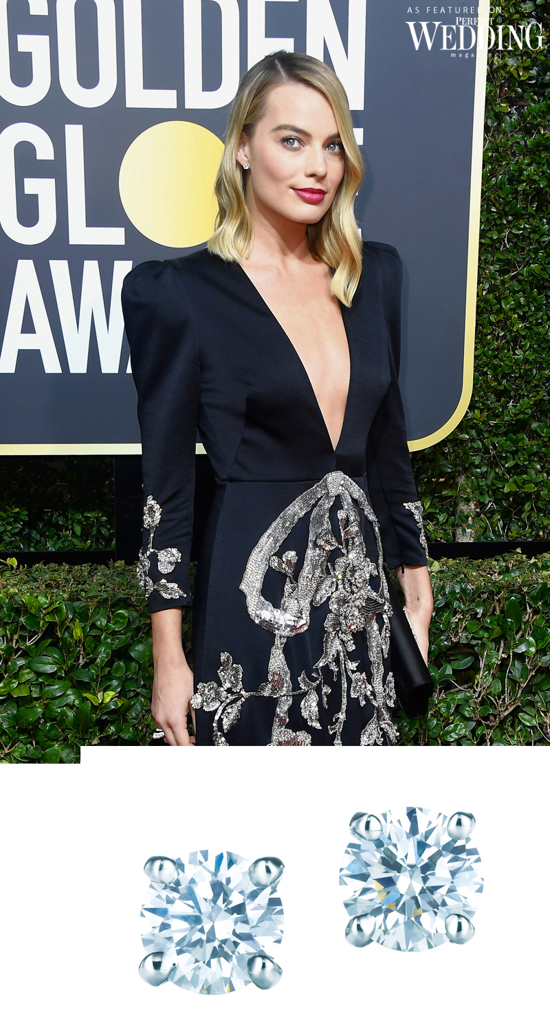 Tiffany & Co, Tiffany and Co, Golden Globes Awards, Golden Globes 75, Time's Up, Globes 75, tiffany, Perfect Wedding Magazine, Perfect Wedding Blog, Wedding Magazine, Digital Wedding Magazine, Margot Robbie