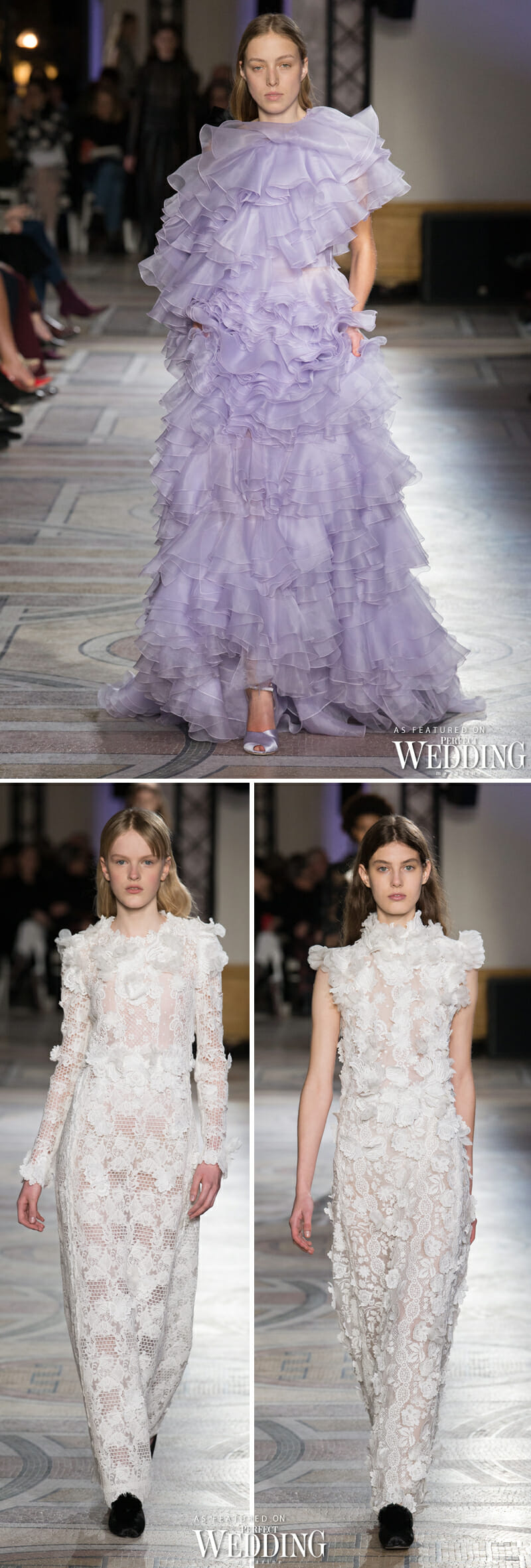 Giambattista Valli, Giambattista Valli Haute Couture, Spring 2018, Giambattista Valli, Spring 2018 Haute Couture, Bridal Gowns, Paris Fashion Week, Perfect Wedding Magazine, Perfect Wedding Blog,