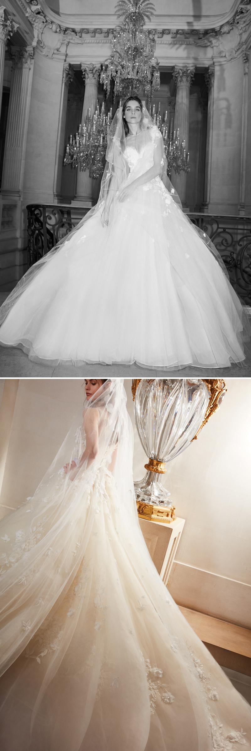 Bal de Vienne, Elie Saab, Elie Saab Bridal, Elie Saab Spring 2019 Bridal Collection, Elie Saab Bal de Vienne, Elie Saab Bride, Elie Saab Wedding Dresses, Perfect Wedding Magazine, Spring 2019 Bridal Trends