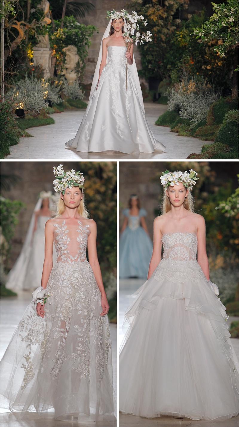 REEM ACRA DEBUTS AT BARCELONA BRIDAL FASHION WEEK - Perfect Wedding ...