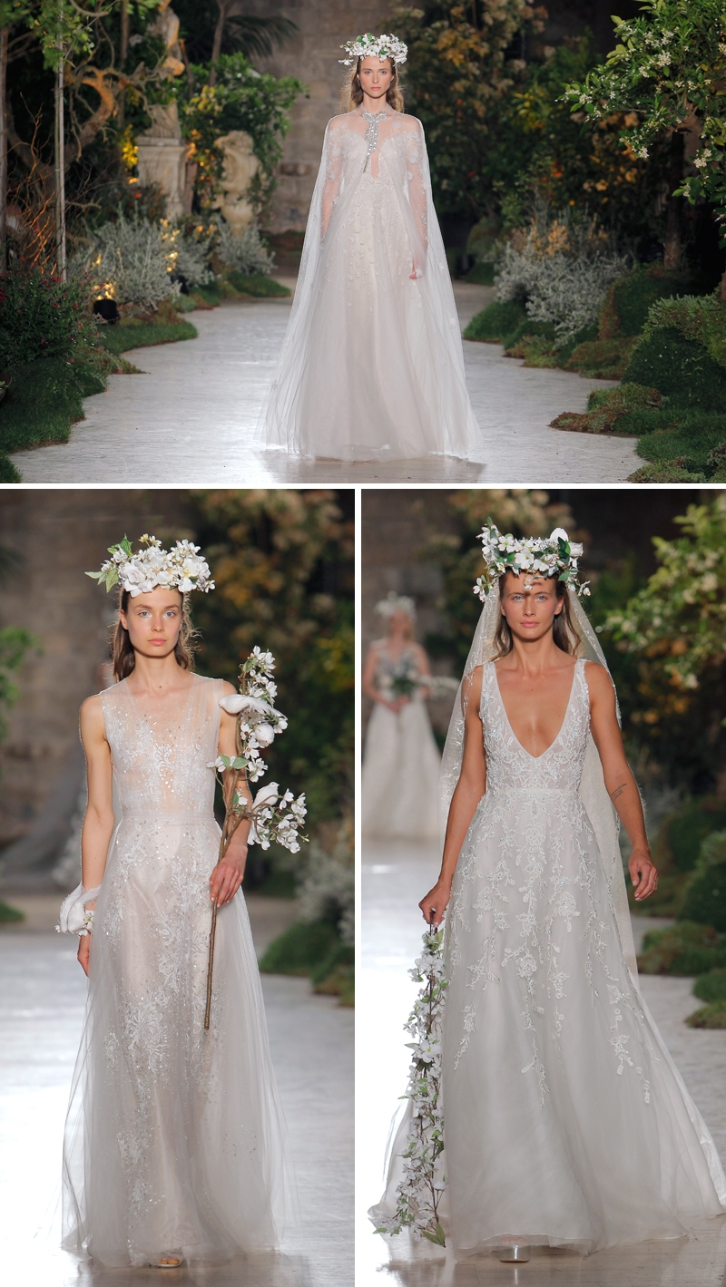 Reem Acra, Reem Acra BBFW, The Prophet, Reem Acra Wedding, bridal, bridal trends, wedding dress, reem acra wedding dress, reem acra bridal collection, bbfw18, barcelona bridal week, barcelona bridal fashion week, perfect wedding magazine, perfect wedding blog, bridal fashion, bride, barcelona
