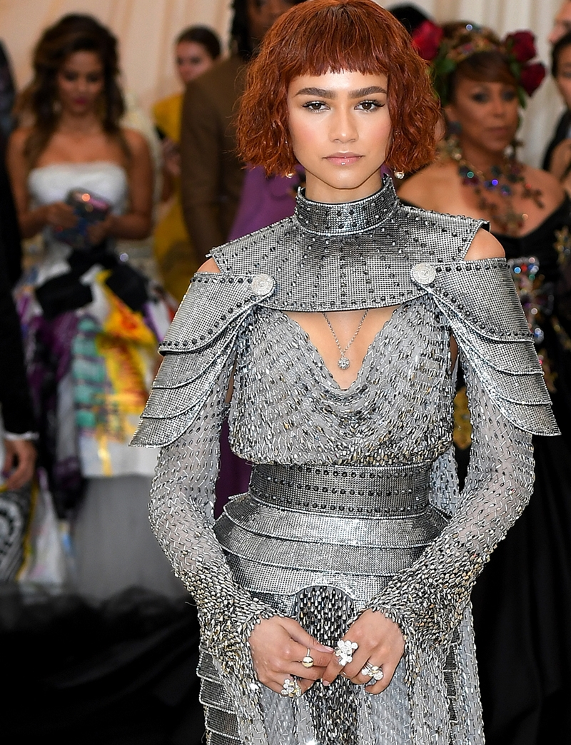 Zendaya, Met Heavenly Bodies, Met Gala, Tiffany & Co. Tiffany Paper Flowers collection, Perfect Wedding Magazine, Perfect Wedding Blog,