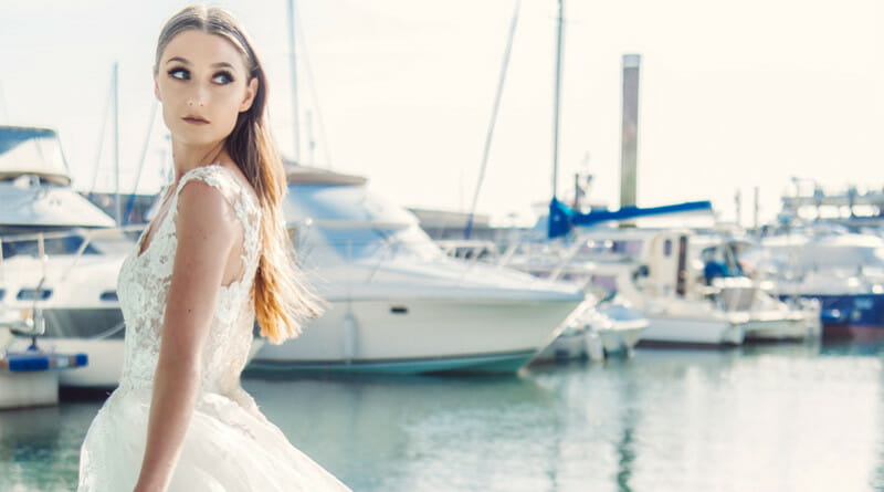 Summer Wedding Gowns, Wedding by the Sea, Bridal style Shoot, Fashion Shoot, UK Wedding Vendors, Perfect Wedding Magazine, Perfect Wedding Blog, Bridal Fashion, Ian Stuart,