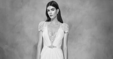 Jenny Packham, Jenny Packham Bridal, Jenny Packham 30th Anniversary Bridal Collection, Jenny Packham Aspen Gown, Perfect Weddiing Magazine, Perfect Wedding Blog, Bride, Summer Wedding Gowns, British Fashion Designer, UK Bride