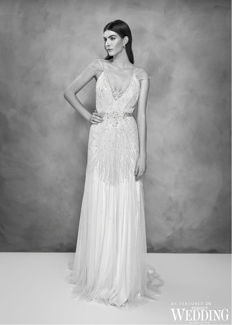 Jenny Packham, Jenny Packham Bridal, Jenny Packham 30th Anniversary Bridal Collection, Jenny Packham Willow Gown, Perfect Weddiing Magazine, Perfect Wedding Blog, Bride, Summer Wedding Gowns, British Fashion Designer, UK Bride