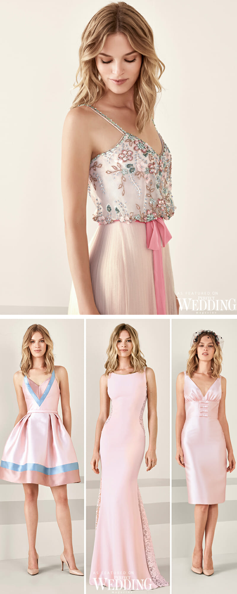 Pronovias, Pronovias Cocktail Dresses, Cocktail Dresses, Pronovias Cocktail 2019, Summer Dresses, Perfect Wedding Magazine, Perfect Wedding Blog