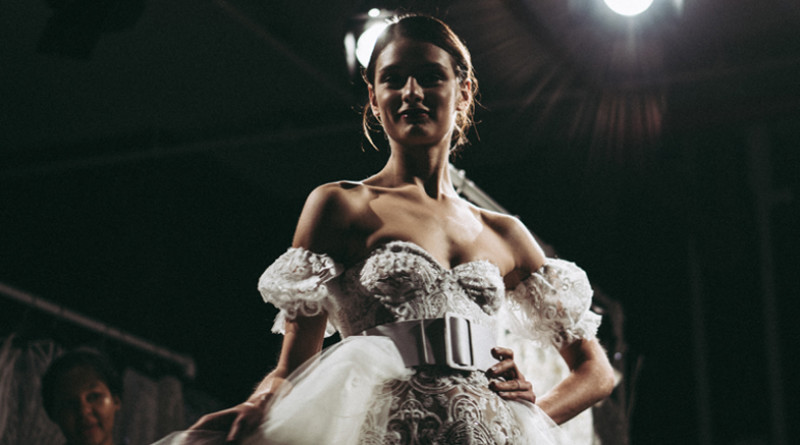Naeem Khan, naeem khan fall 2019 bridal, new york bridal fashion week, stacie houlker, fall 2019 bridal dresses, perfect wedding magazine, perfect wedding blog, best of new your bridal fashion week