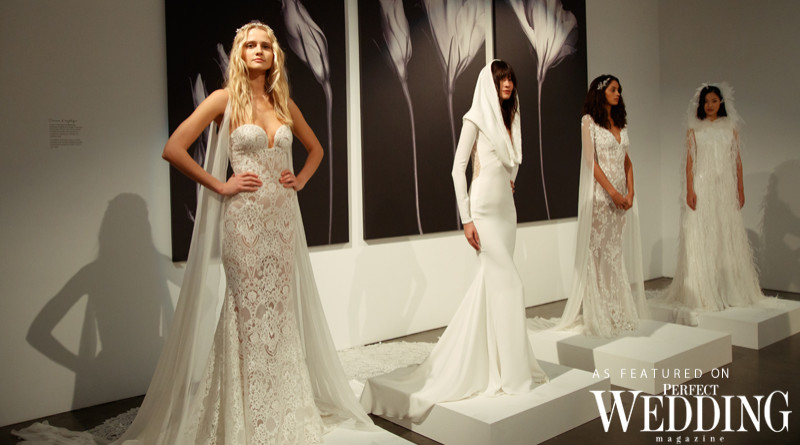 Pronovias, Atelier Pronovias, Art of Bridal, New York Bridal Fashion Week, Hervé Moreau, Perfect Wedding Magazine, Perfect Wedding Blog, Interview with Hervé Moreau, Pronovias Dresses