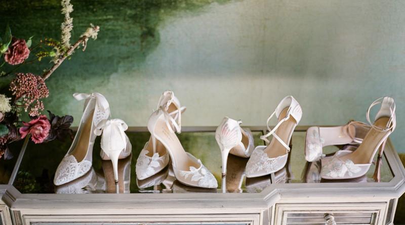 Claire Pettibone, Bella Belle Shoes, ClaireXBella, Bella Belle Bridal Shoes, Bridal Shoes, Wedding Heels, floral shoes, bridal heels, perfect wedding magazine, perfect wedding blog, bridal fashion, wedding 2018