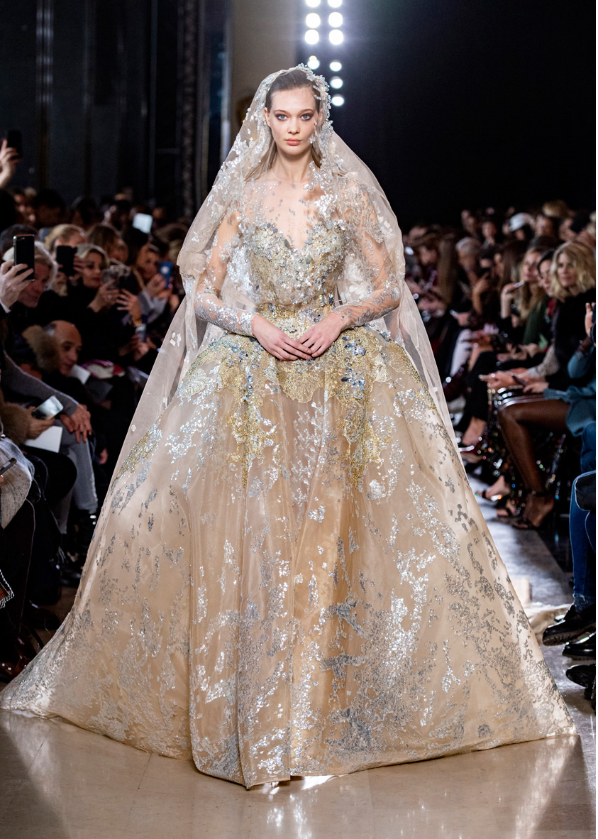 Elie Saab Haute Couture Spring Summer 2019: Elie Saab Couture Wedding Dress At Reisefeber.org