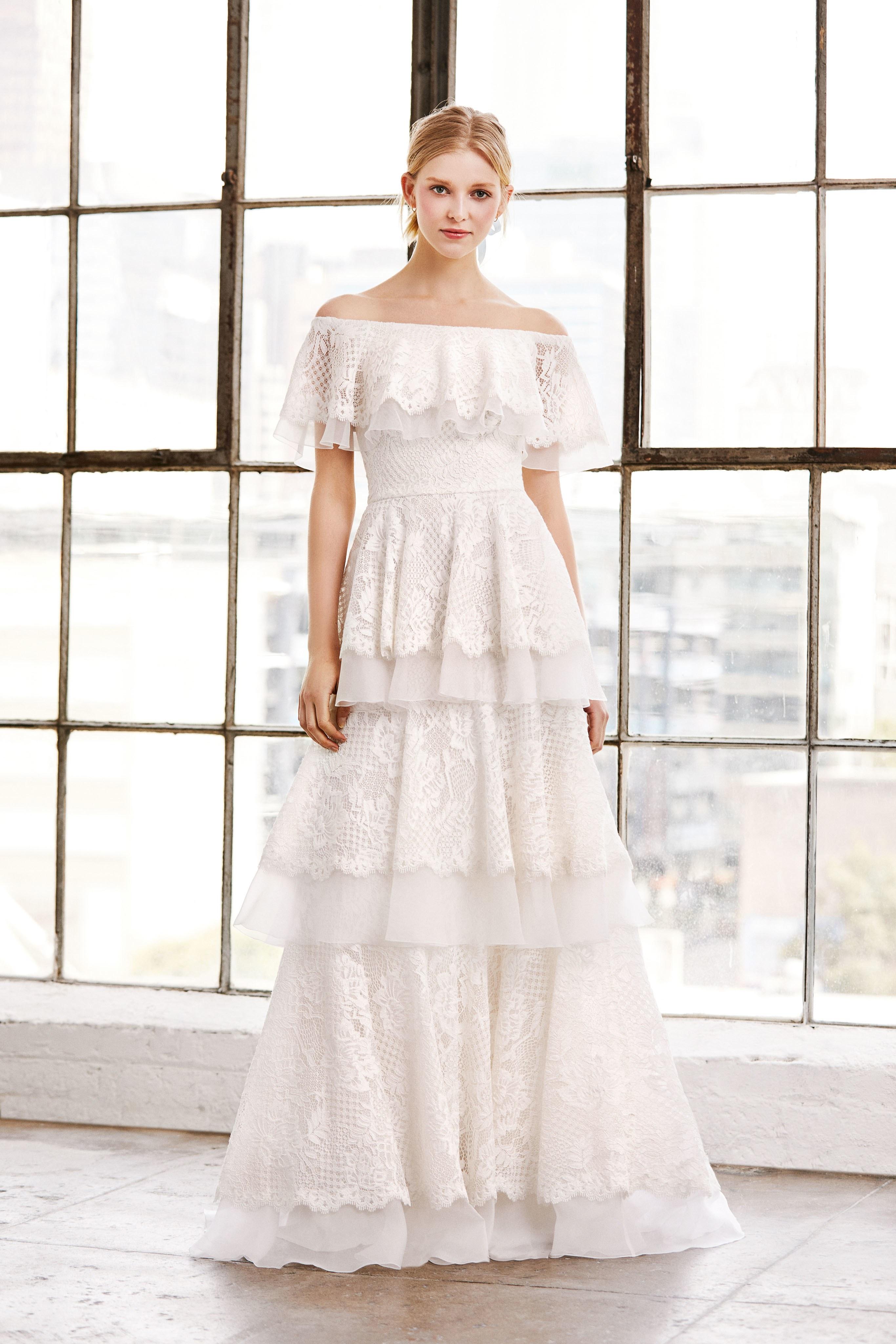 Tadashi Shoji Wedding.Tadashi Shoji Bridal Spring 2019 Perfect Wedding Magazine
