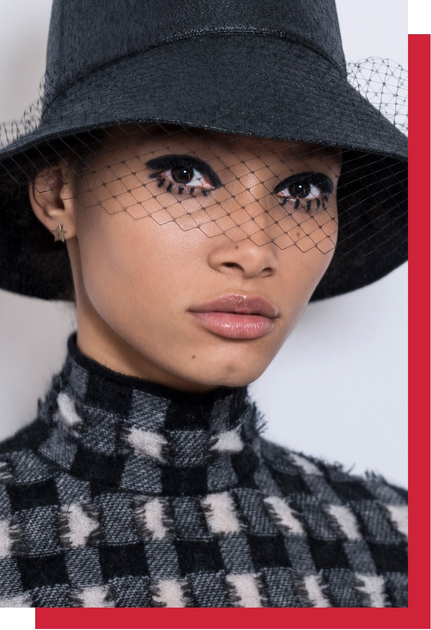 Dior Autumn-Winter 2019-2020 Ready-to-Wear show backstage, Dior Makeup, Peter Philips, Dior Show, Paris Fashion Week, Paris, Fashion, Dior, Teddy Girls, Makeup Trends, Beauty, Perfect Wedding Magazine, Perfect Wedding Blog, Maria Grazia Chiuri