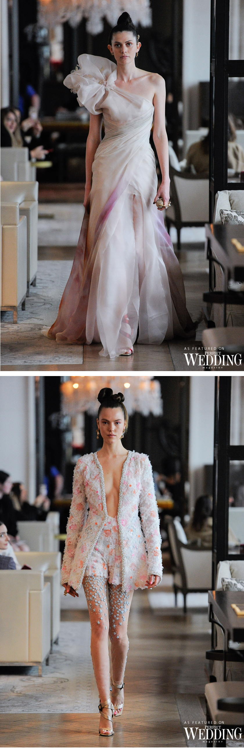 INES DI SANTO CAPTIVATING NEW BRIDAL COLLECTION | Perfect Wedding