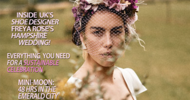 Perfect Wedding Magazine cover Style and Grace