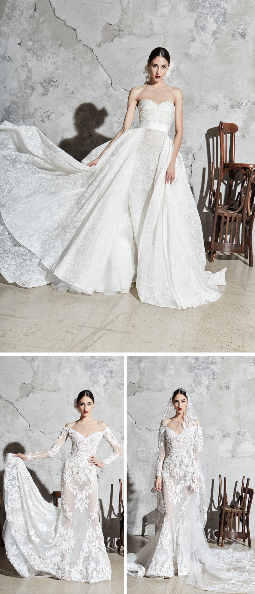 Zuhair Murad, Zuhair Murad Wedding Dress, Zuhair Murad Bride, Wedding Dresses, Spring 2020 Wedding Dresses, Bridal Collections, New York Bridal Fashion Week, Perfect Wedding Magazine, Perfect Wedding Blog