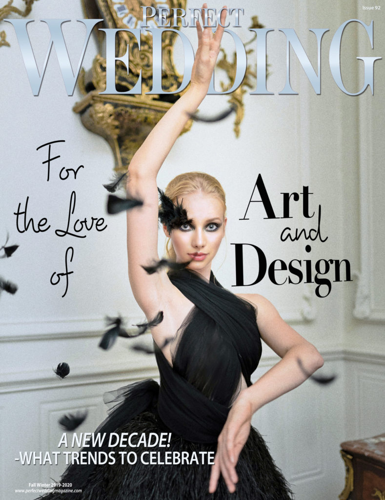 For The Love of Art and Design 2019 Perfect Wedding Magazine