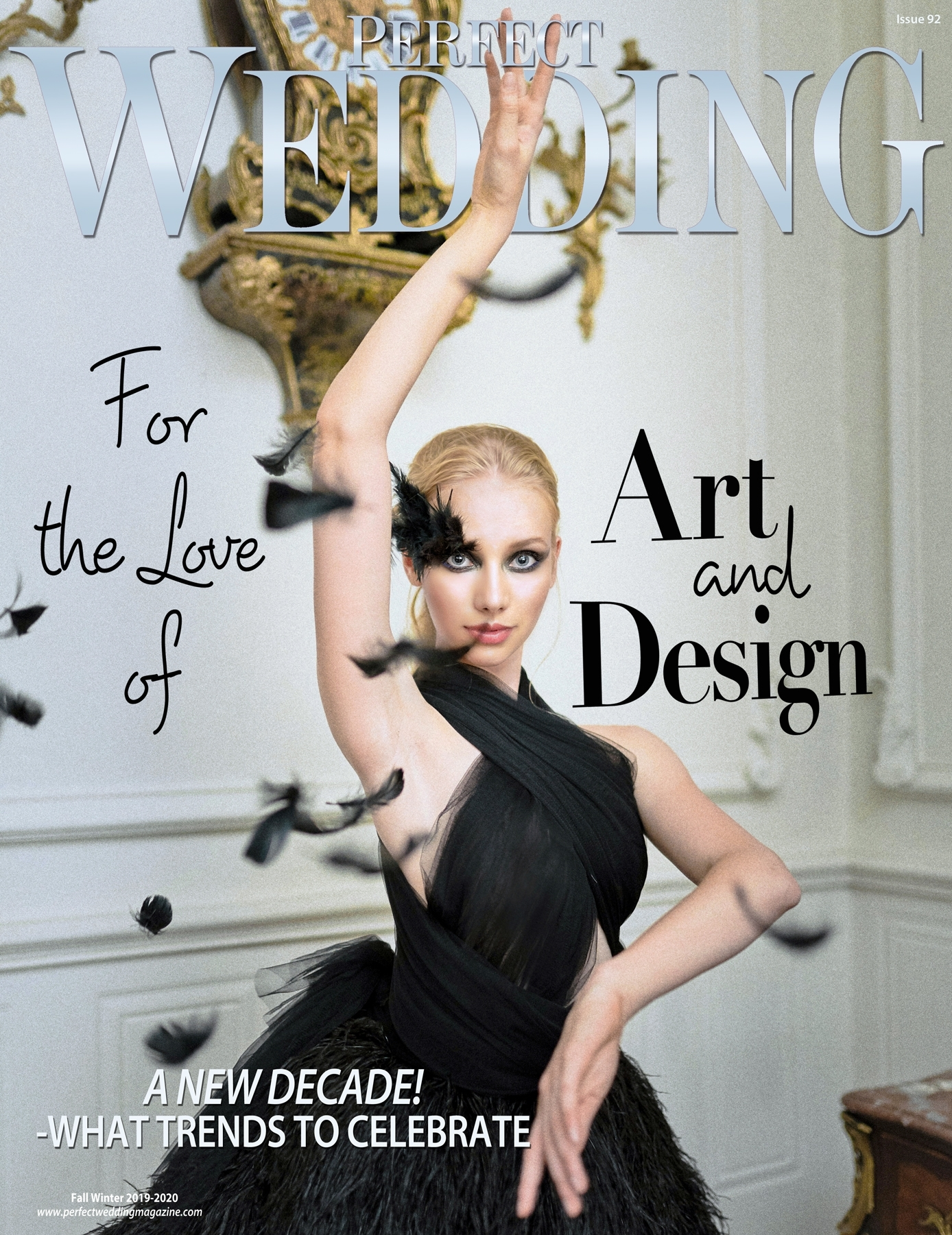 Free Magazine Subscriptions Perfect Wedding Magazine 'For the Love of Art and Design'