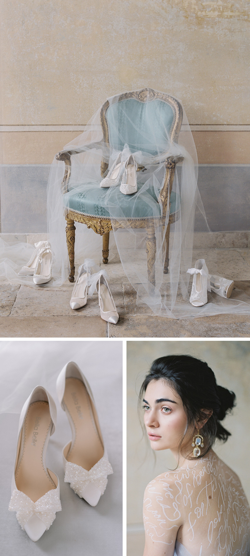 Bella Belle Shoes new collection Poetry of Love for 2020, beautiful Bridal shoes photos at Lake Como, Italy, Perfect Wedding Magazine for Bridal Fashion, Beauty, Bride, Bella Belle Brides, Laura Gordon Photography, Joy Proctor, Zen Film Works, Harold James Paris, Shasta Bell Calligraphy, Veronica Halim Calligraphy, Centorose e un Tulipano, Paolo Sebastian, Rime Arodaky, Nicole and Felicia, Andrea Sedicim Costarellos, Xtabay Vintage, Claire La Faye, Bonggiwe Proctor, Twigs and Honey, Villa Sala Cabiati, Villa Balbiano, Locust Collection