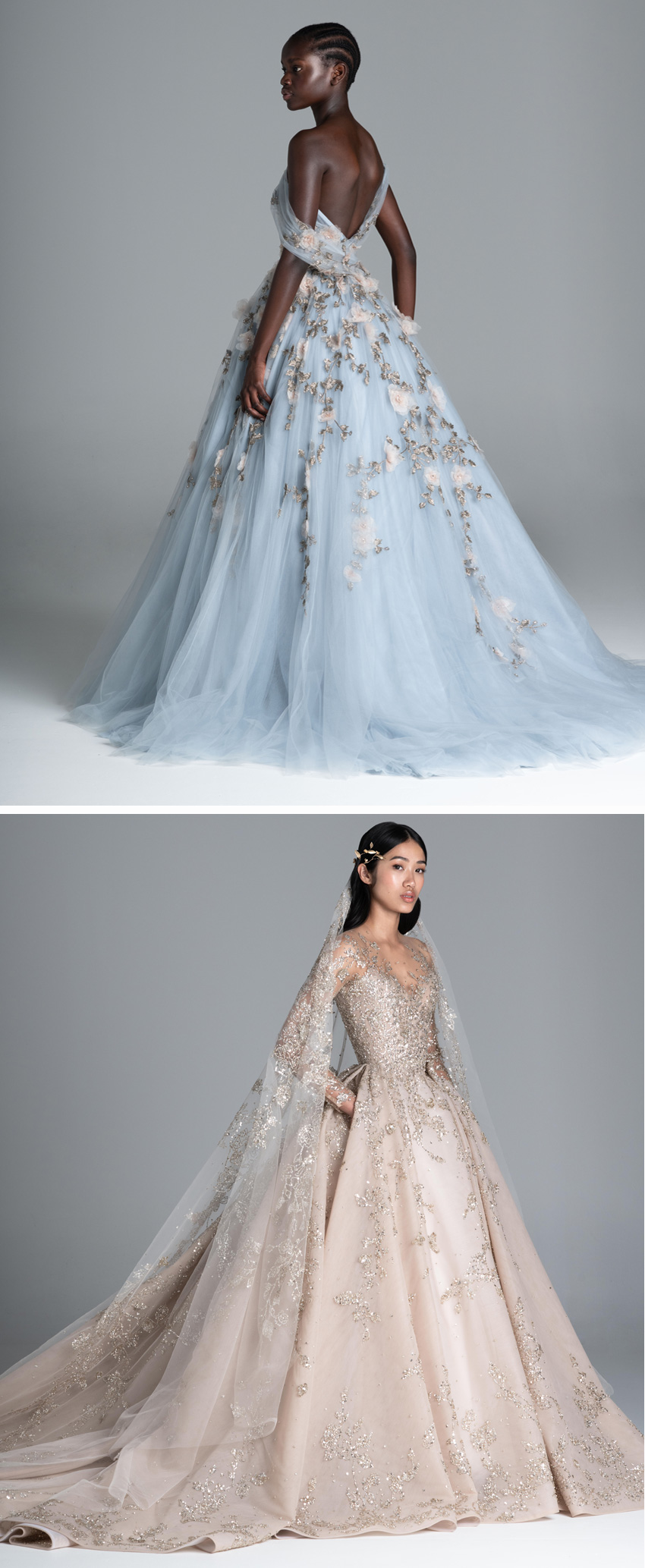 Paolo Sebastian, Paolo Sebastian Haute Couture, Paolo Sebastian Haute Couture Spring Summer 2020, Spring 2020, Bridal trends 2020, Wedding Dress, Perfect Wedding Magazine, Wedding Magazine, Bridal Fashion, Spring 2020 Wedding Dress, Haute Couture,