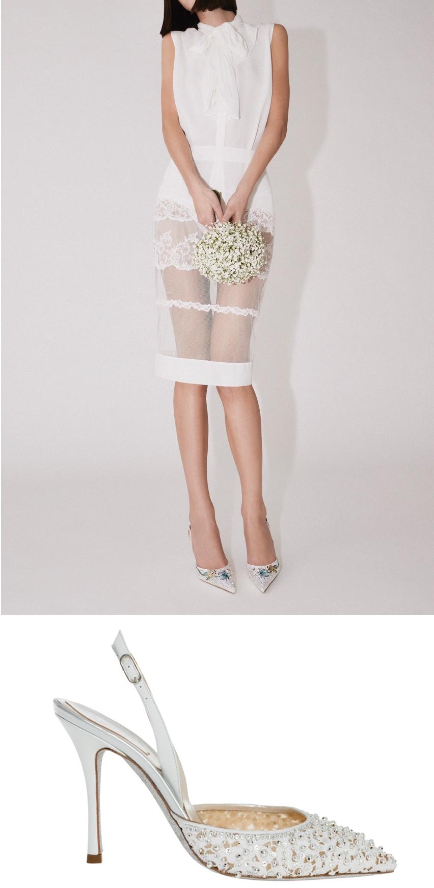 René Caovilla launches the 2020 bridal shoe collection