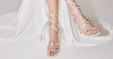 René Caovilla 2020 bridal shoe collection enhances the female figure