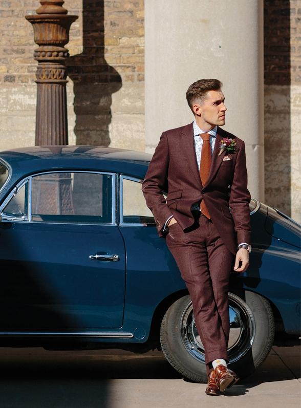 Surmesur styled suit Prfect Wedding Magazine