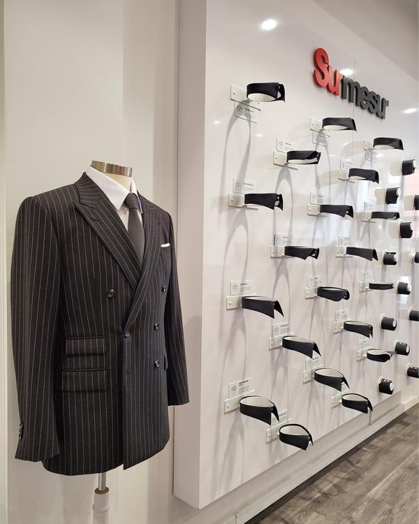 Surmesur jacket and collar wall Perfect Wedding Magazine
