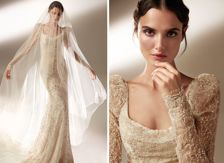 Top Model Blanca Padilla the ambassador of Atelier Pronovias 2021 Cruise collection, Perfect Wedding Magazine