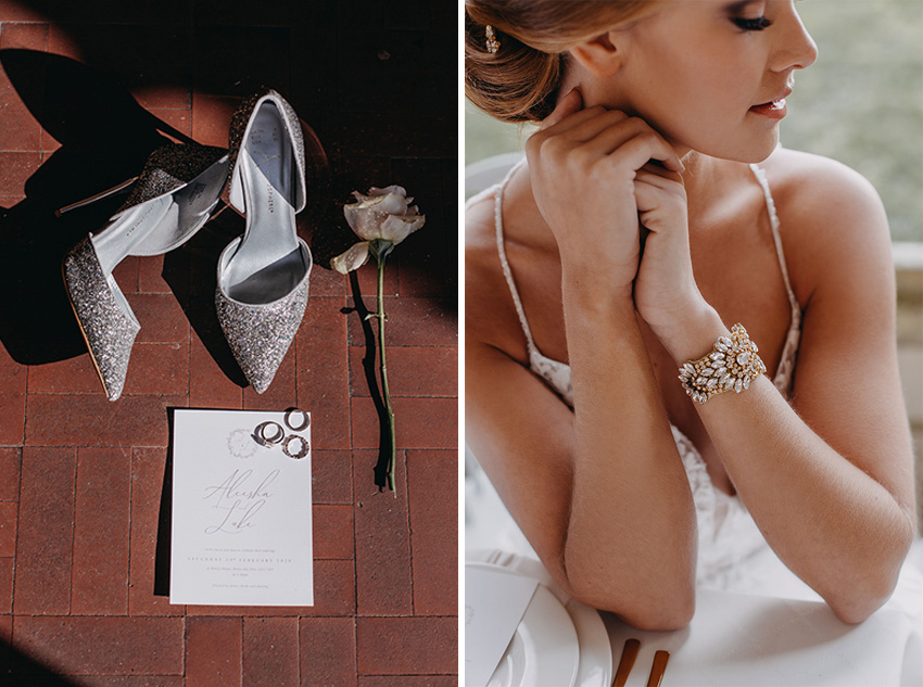Winter styled wedding in Perfect Wedding Magazine