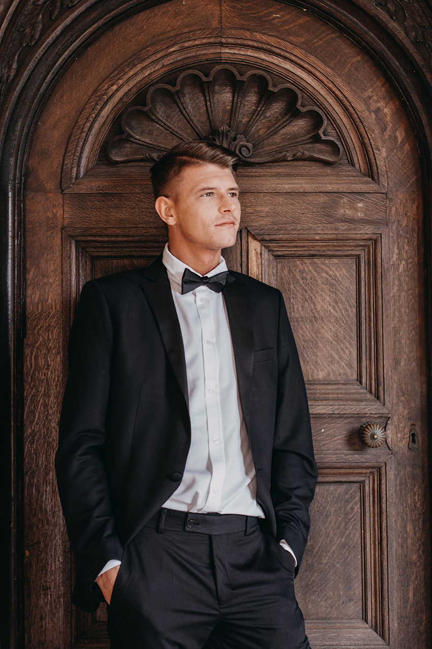 Winter Men Style look inspiration in Perfect Wedding Magazine