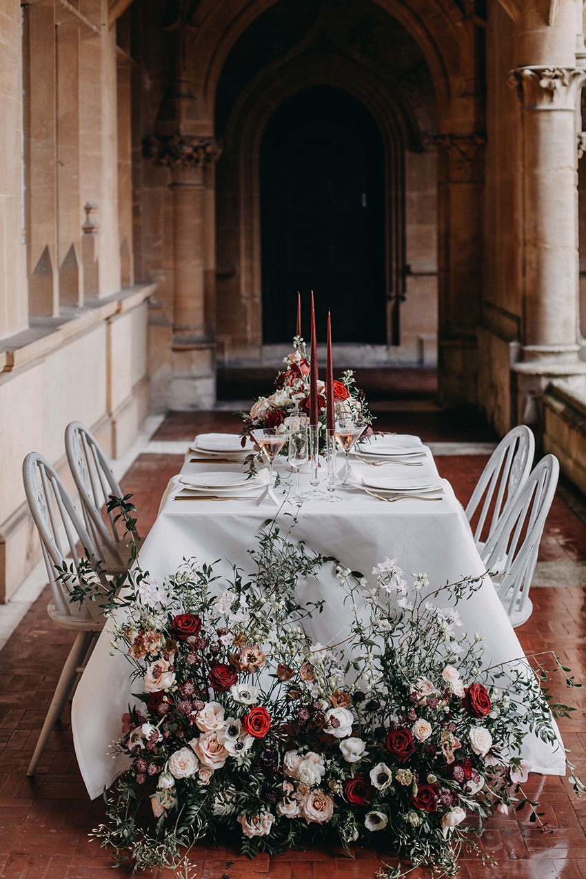Winter wedding inspiring style shoot in Perfect Wedding Magazine