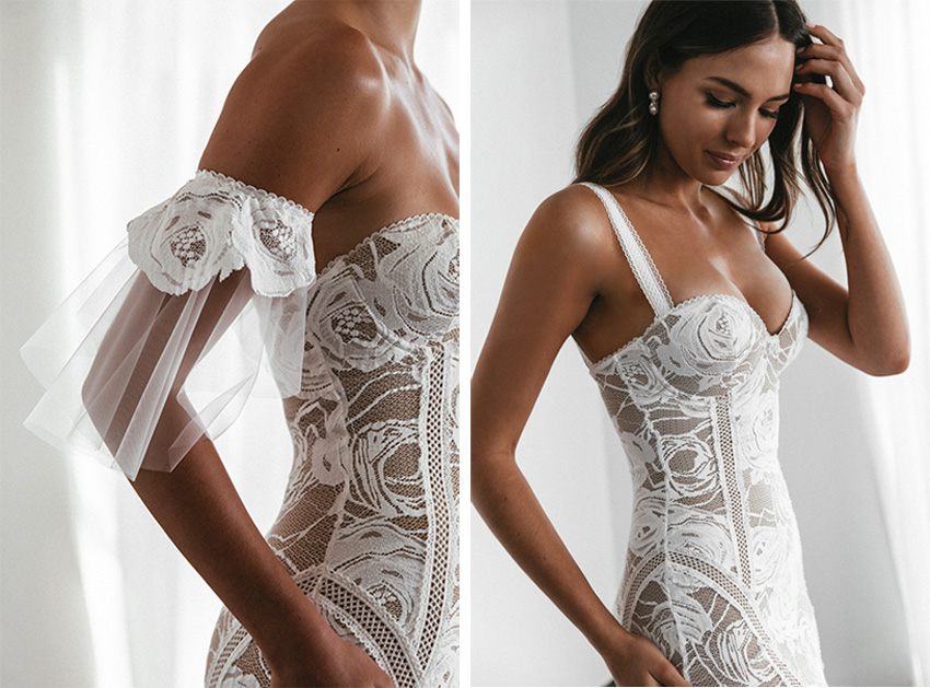 Grace Loves Lace Spring 2020 Dress in Perfect Wedding Magazine