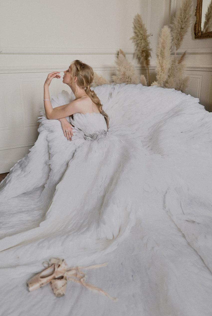 Bride ballerina inspiration in Perfect Wedding Magazine