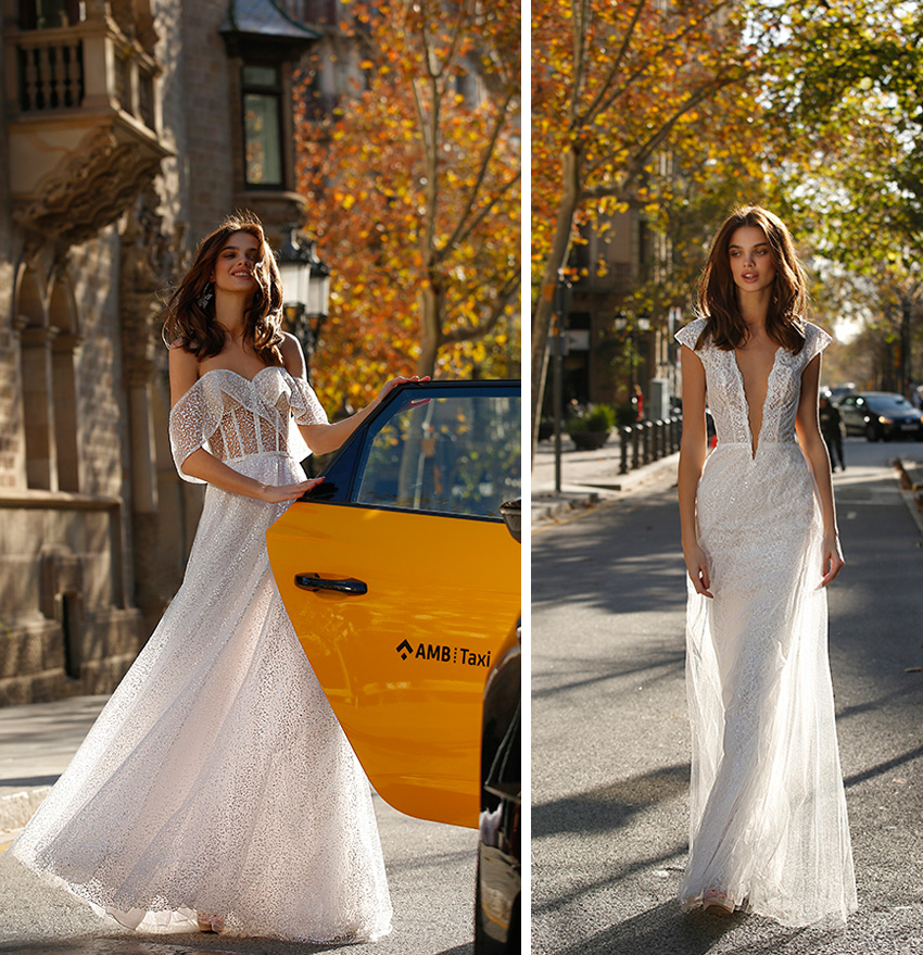 The jolie. bridal is brilliant and effortless design style as featured in Perfect Wedding Magazine