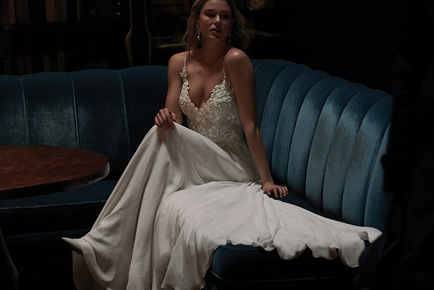 Justin alexander Signature Spring 2021 bridal collection is designed for the modern bride featured in Perfect Wedding Magazine