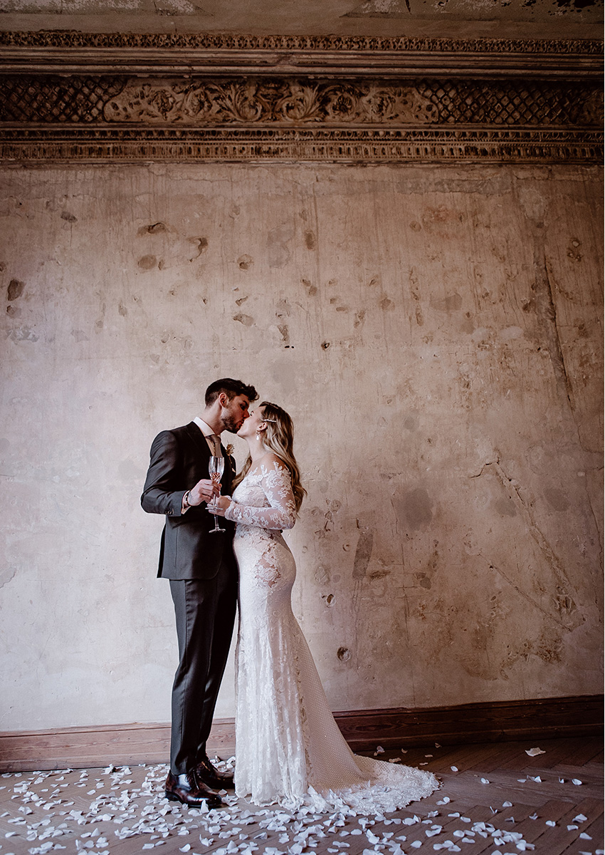 German Italian Wedding Pre-#SocialDistancing Perfect Wedding Magazine
