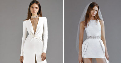 Galia Lahav Pret-a-Porter bridal capsule collection includes sexy silhouettes in luxe fabrics featured in Perfect Wedding Magazine