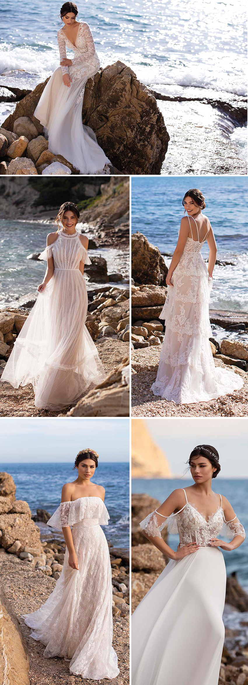 White One new bridal collection Day Dream with boho silhouettes