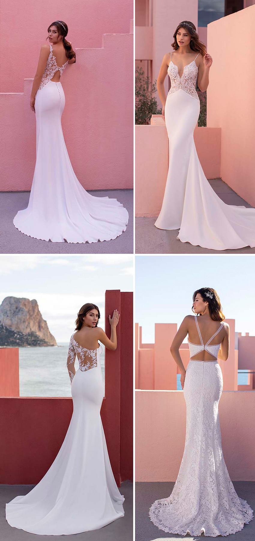 White One new bridal collection DayDream sexy dresses in Perfect Wedding Magazine