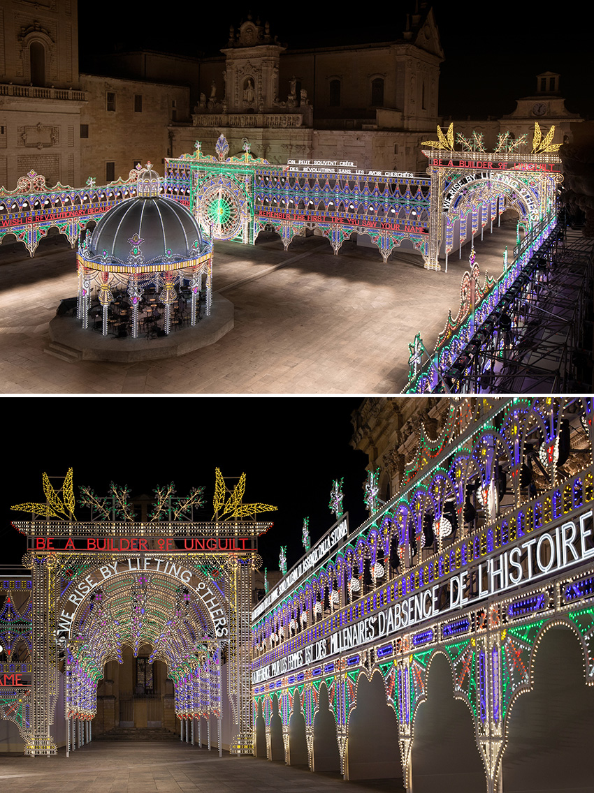 Dior Cruise 2021 show set celebrating the Luminarie in Perfect Wedding Magazine