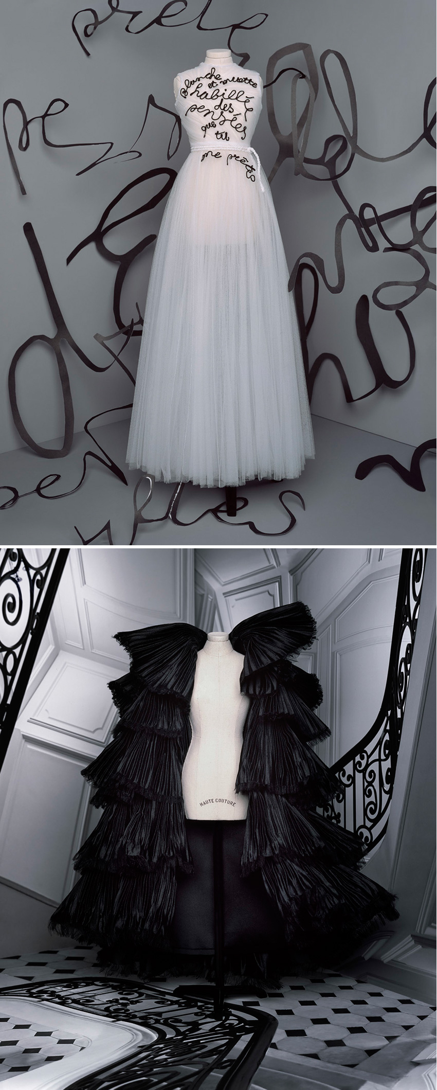 Dior Haute Couture F/W 2020-21 collection wedding gown in Perfect Wedding Magazine