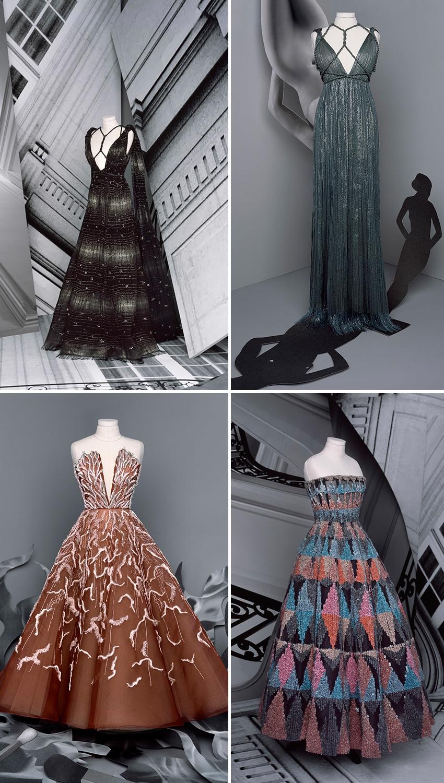 Dior Haute Couture F/W 2020-21 collection muse attitude in Perfect Wedding Magazine