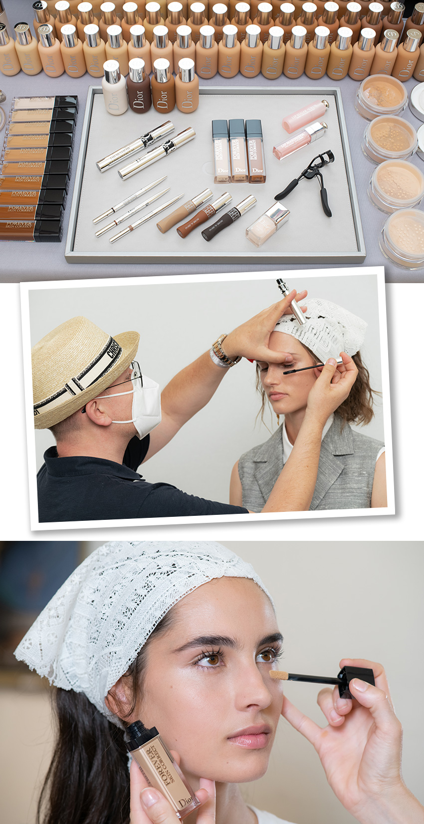 Dior Makeup Cruise 2021 Dior show in Lecce, Pugli as featured in Perfect wedding Magazineshow