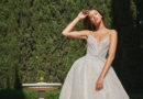 Monique Lhuillier Spring 2021 bridal collection is all about femininity and romance as seen in Perfect Wedding Magazine