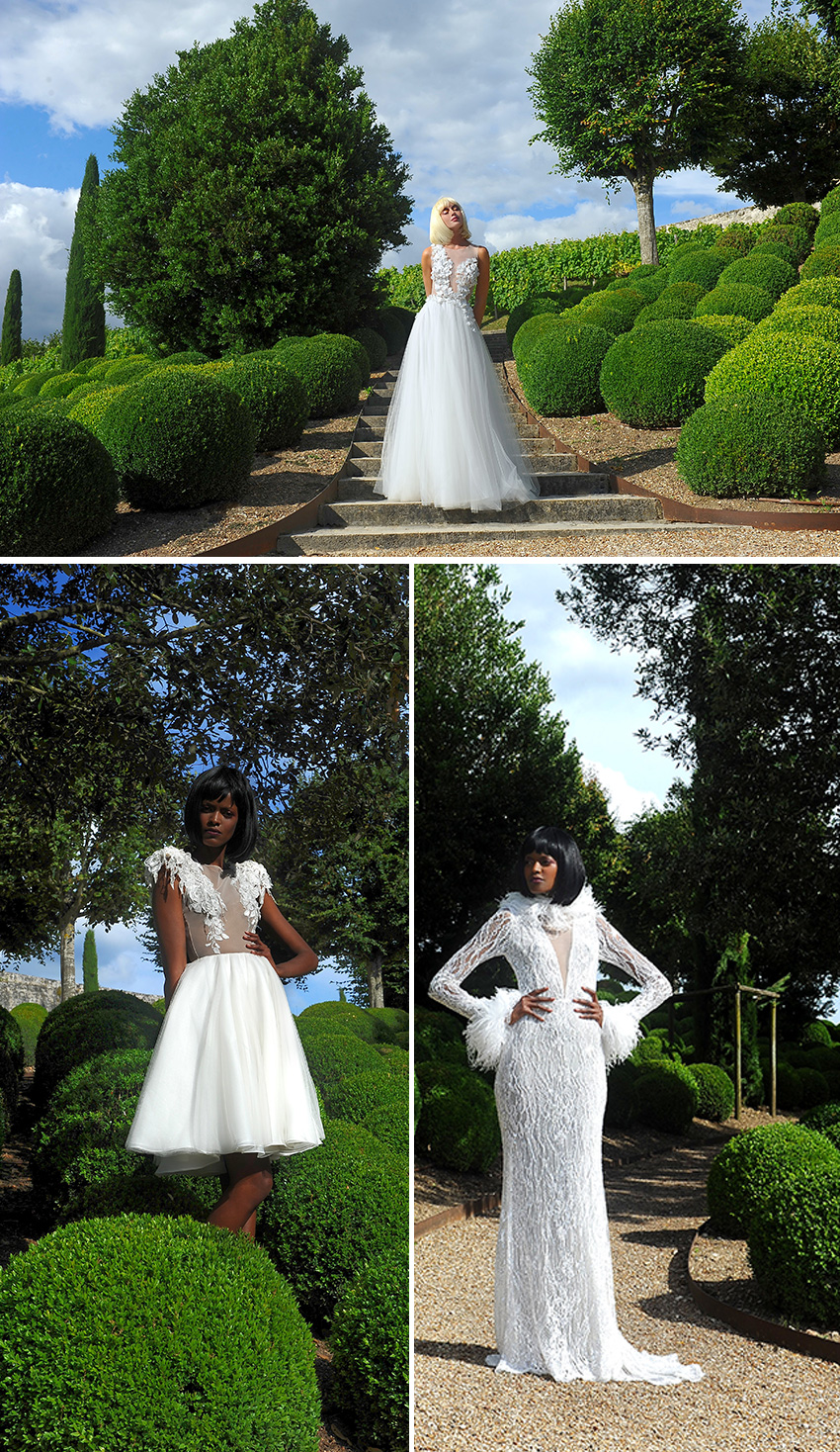 La Metamorphose Couture Bridal capsule Fall Winter 2020-21 featured in Perfect Wedding Magazine